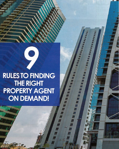 9 rules to finding the right property agent on demand!