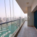Emirates Crown 3BR with full Marina view