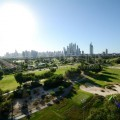 Bright 3BR with golf and pool view