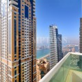 Spacious 3BR Sea View in Marina Pinnacle