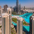 Burj Khalifa and Fountain View | High Floor